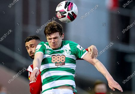 Editorial image of SSE Airtricity League Premier Division, Ryan McBride Brandywell Stadium, Derry, Northern Ireland - 13 Apr 2021