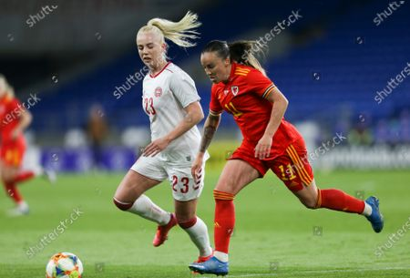 Natasha Harding of Wales beats Sofie Svava of Denmark