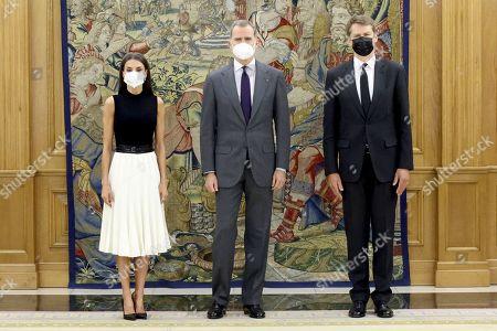 An audience with Hugh Elliot at Zarzuela Palace, Madrid