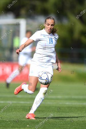 "Anna Bjork KristjanSdottir (Iceland)                during the Uefa ""Women s Euro 2022 England Qualifications"" match between Italy Women 1-1 Iceland Women  at Enzo Bearzot  Stadium in Florence, Italy."