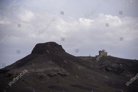 Stock Image of A general view of Imam Ali Observatory in Kahak area, near the city of Qom, 180 km (113 miles) south of Tehran.