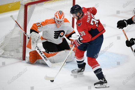 Editorial image of Flyers Capitals Hockey, Washington, United States - 13 Apr 2021