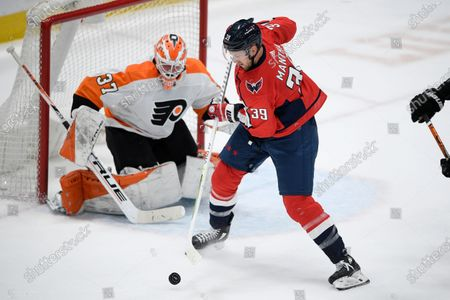 Editorial picture of Flyers Capitals Hockey, Washington, United States - 13 Apr 2021