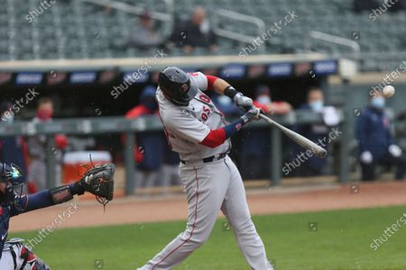 Editorial picture of Red Sox Twins Baseball, Minneapolis, United States - 13 Apr 2021