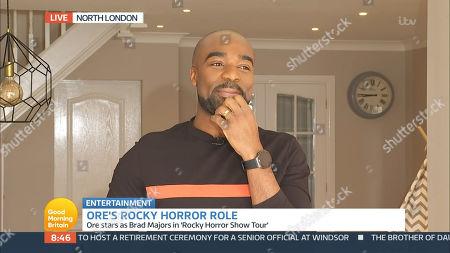 Editorial image of 'Good Morning Britain' TV Show, London, UK - 14 Apr 2021