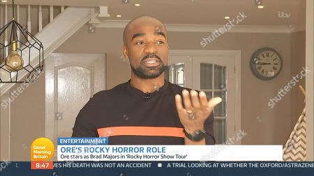 Editorial picture of 'Good Morning Britain' TV Show, London, UK - 14 Apr 2021