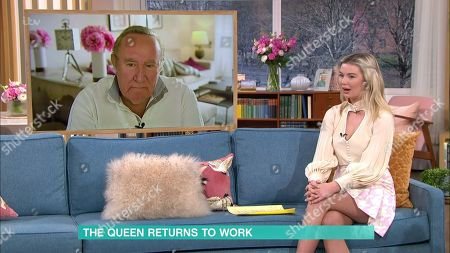 Georgia Toffolo and Andrew Neil