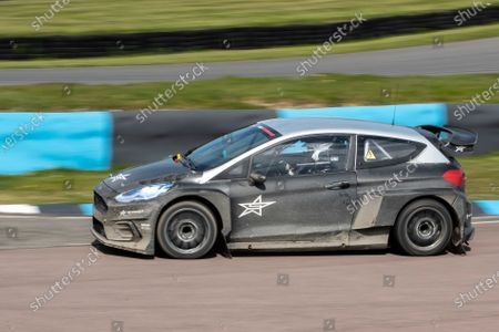 Matt Neal, triple BTCC Champion behind the wheel of STARD ERX during the 5 Nations British Rallycross Championship Media Day at Lydden Hill Race Circuit on 14th April 2021