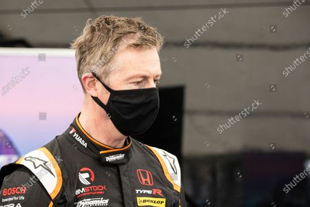Matt Neal before test driving the Stard ERX during the 5 Nations British Rallycross Championship Media Day at Lydden Hill Race Circuit on 14th April 2021