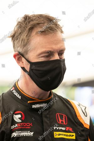Stock Photo of Matt Neal before he test drives the STARD ERX during the 5 Nations British Rallycross Championship Media Day at Lydden Hill Race Circuit on 14th April 2021