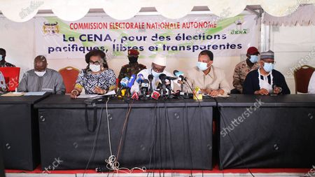 Editorial image of Benin Cotonou Presidential Election Provisional Results - 13 Apr 2021