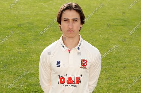 Robin Das of Essex poses for a portrait during the Essex CCC Press Day at The Cloudfm County Ground on 31st March 2021