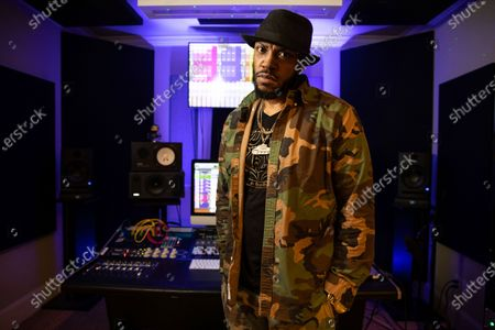 Rapper Mystikal poses for a portrait in Baton Rouge, La. on . Mystikal, whose birth name is Michael Lawrence Tyler, wants to make changes to his career - and life - as he tries to find harmony beyond a troubled past. He plans to start work on a live instrumentation project