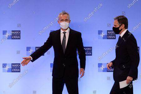 U.S. Secretary of State Tony Blinken meets with NATO Secretary General Jens Stoltenberg
