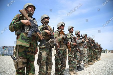 Editorial photo of US President Biden is set to announce the new dates of US troops withdrawal from Afghanistan, Heska Meyna - 14 Apr 2021