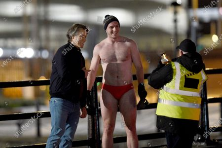 Editorial picture of 'Dr Who' on set filming, Albert Dock, Liverpool, UK - 23 Mar 2021