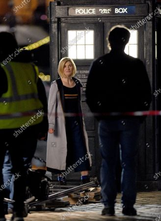 Editorial image of 'Dr Who' on set filming, Albert Dock, Liverpool, UK - 23 Mar 2021