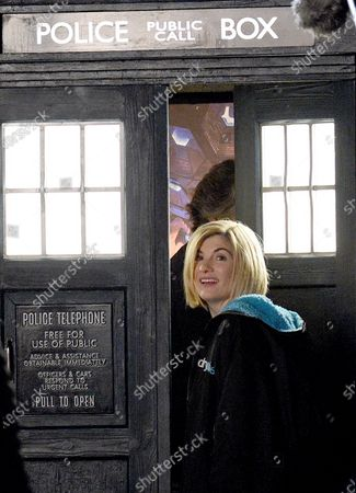 Stock Picture of Jodie Whittaker filming Dr Who