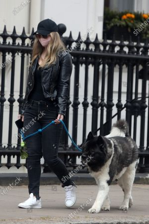 Editorial image of Exclusive - Natalie Viscuso out and about, London, UK - 14 Apr 2021