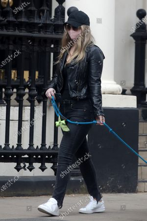 Editorial picture of Exclusive - Natalie Viscuso out and about, London, UK - 14 Apr 2021