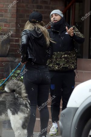Editorial photo of Exclusive - Natalie Viscuso out and about, London, UK - 14 Apr 2021