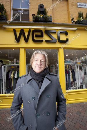 Editorial image of WeSc CEO and founder Gregor Hagelin, London, Britain - 26 Mar 2010