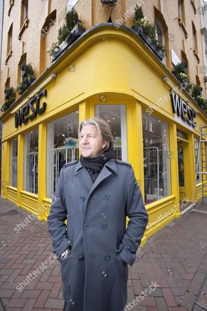 Editorial picture of WeSc CEO and founder Gregor Hagelin, London, Britain - 26 Mar 2010