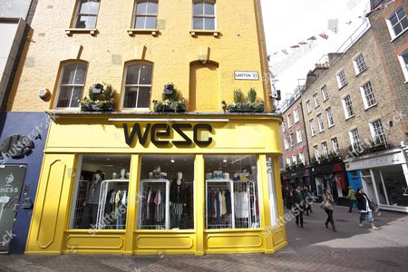 Stock Picture of WeSc skate and underground clothing boutique