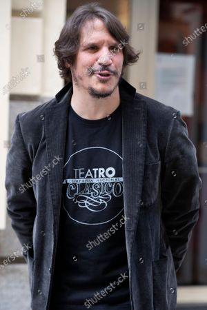 Actor Sergio Peris-Mencheta poses during the presentation of ''Castelvines y Monteses'' Madrid
