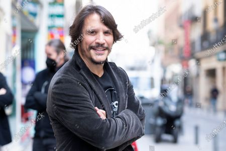 Editorial image of Sergio Peris Mencheta out and about, Madrid, Spain - 14 Apr 2021