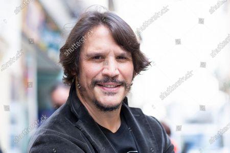 Stock Image of Actor Sergio Peris-Mencheta poses during the presentation of ''Castelvines y Monteses'' Madrid