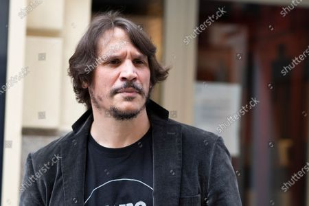 Actor Sergio Peris-Mencheta poses during the presentation of ''Castelvines y Monteses''