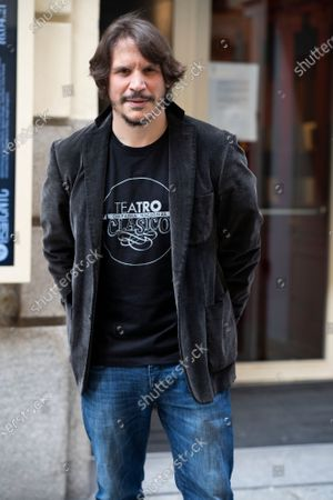 Editorial photo of Sergio Peris Mencheta out and about, Madrid, Spain - 14 Apr 2021