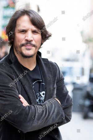 Stock Photo of Actor Sergio Peris-Mencheta poses during the presentation of ''Castelvines y Monteses''