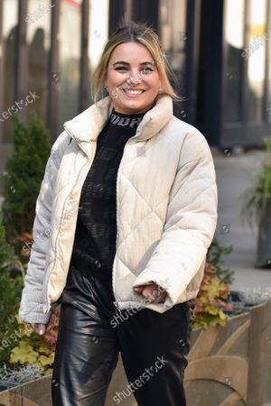Stock Photo of Sian Welby is seen departing the Global Radio Studios.