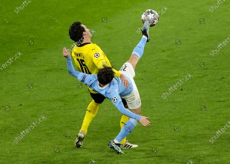 Editorial picture of Borussia Dortmund vs Manchester City, Germany - 14 Apr 2021