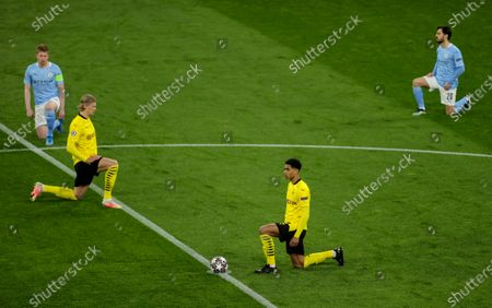 Editorial image of Borussia Dortmund vs Manchester City, Germany - 14 Apr 2021