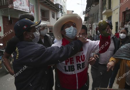 Editorial picture of Elections, Chota, Peru - 14 Apr 2021