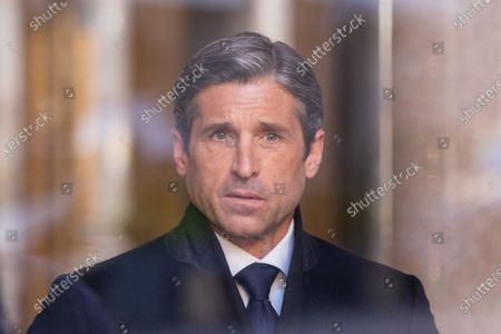 """American actor Patrick Dempsey is in Rome to shoot second season of """"Devils"""", a television series produced by Sky Italia, Lux Vide, Orange Studio."""
