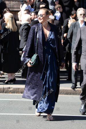 Editorial picture of Carla Zampatti State Funeral, Sydney, Australia - 15 Apr 2021