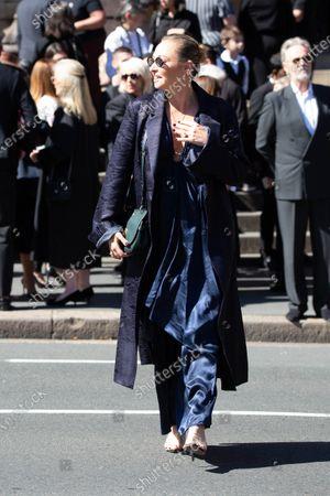Editorial photo of Carla Zampatti State Funeral, Sydney, Australia - 15 Apr 2021