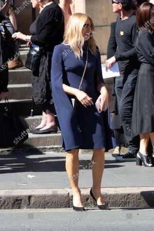 Editorial image of Carla Zampatti State Funeral, Sydney, Australia - 15 Apr 2021