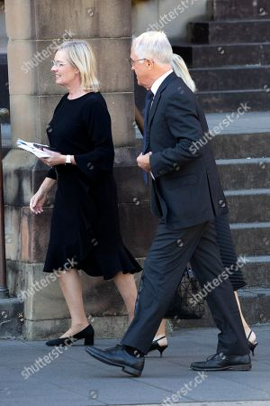Stock Image of Lucy Turnbull and Malcolm Turnbull