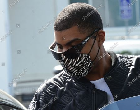 Editorial image of EJ Johnson out and about, West Hollywood, Los Angeles, California, USA - 14 Apr 2021