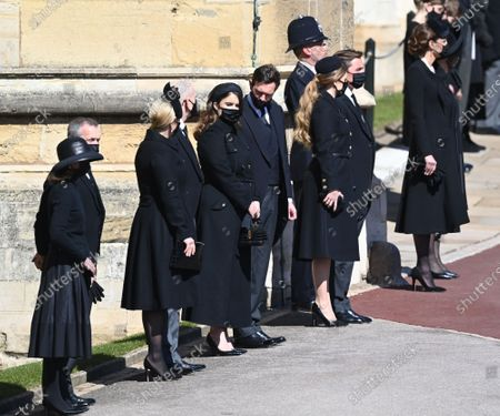 Editorial image of The funeral of Prince Philip, Duke of Edinburgh, Guard Room Roof, Windsor Castle, Berkshire, UK - 17 Apr 2021