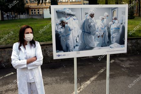 Editorial image of Virus Outbreak , Belgrade, Serbia - 15 Apr 2021