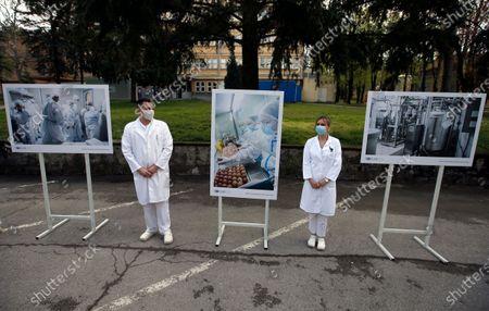 Editorial picture of Virus Outbreak , Belgrade, Serbia - 15 Apr 2021