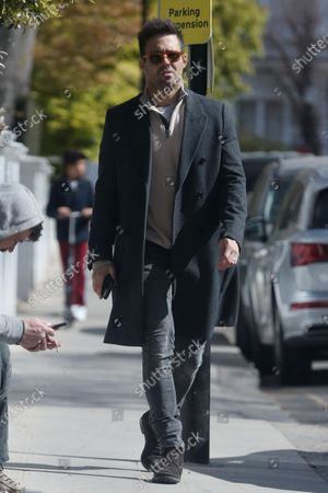 Editorial picture of Spencer Matthews out and about, London, UK - 15 Apr 2021