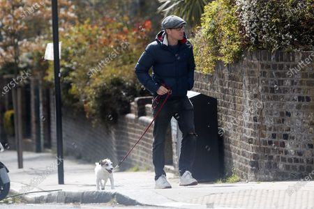 Editorial photo of Russell Howard out and about, London, UK - 15 Apr 2021