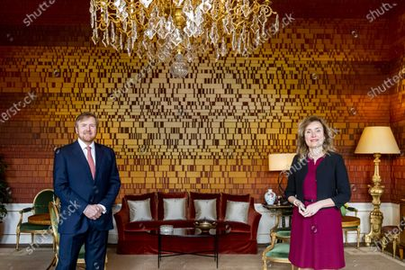 King Willem-Alexander meets with President of the Lower House, The Hague